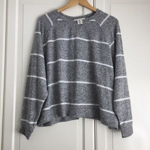 🍉2 for $30🍉 H&M Plush Striped Sweater